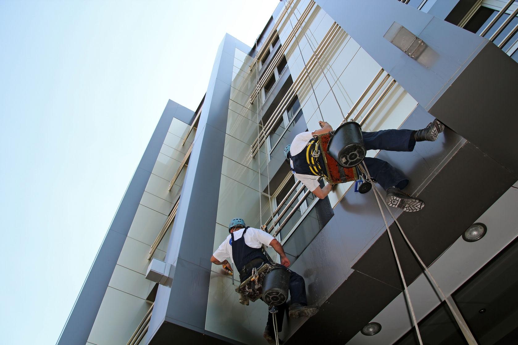 Mantenimiento y limpieza de fachadas